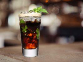 Cold brew coffee mocktail - Italian sweetheart