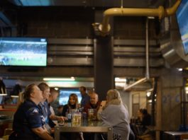 Self-Serve Beer, Stadium Seating and Live Sport at The Dugout in Leeds