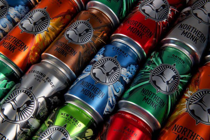 Leeds' Northern Monk brewery reveals it's core range rebranding