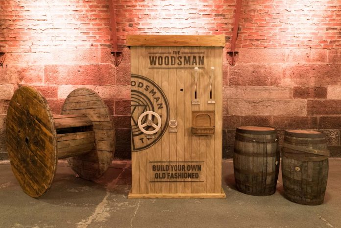World's First Cocktail Vending Machine Launched by The Woodsman Whisky