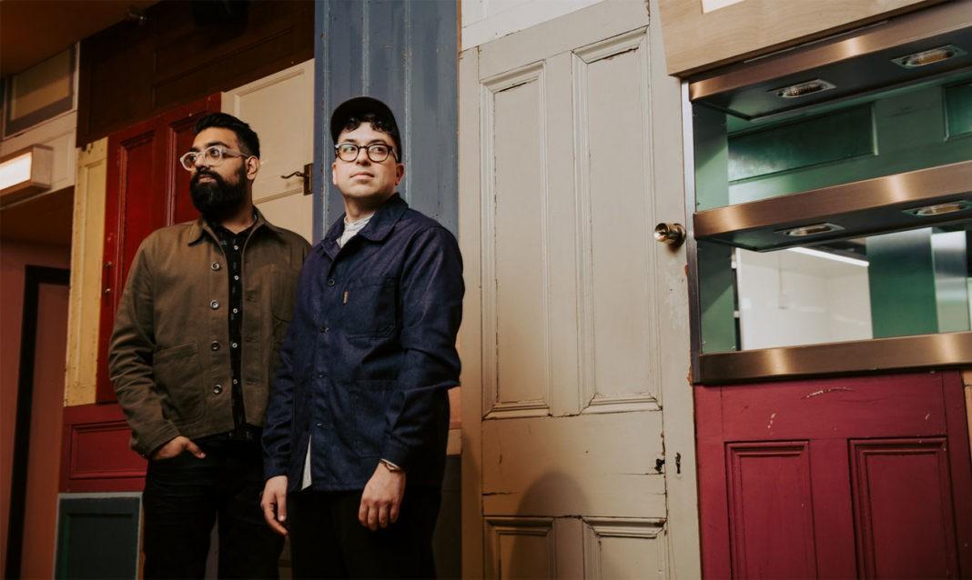 IMAGE (CREDIT) BEN BENTLEY - Mayur Patel and Marko Husak, Bundobust founders