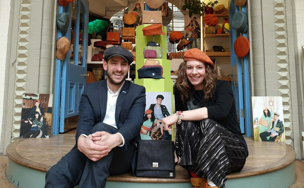 Entrepreneur showcases cruelty-free wearable tech in Leeds Corn Exchange
