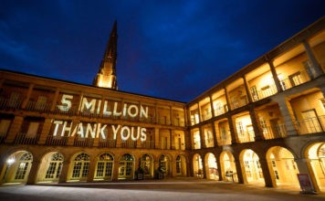 Halifax's The Piece Hall welcomes over 5 million visitors