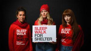 Celebrities call on Manchester to Sleep Walk to Help Homelessness