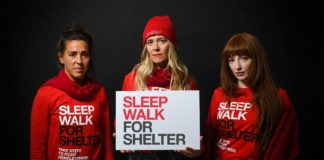 Celebrities call on Manchester to Sleep Walk to Help Homelessness