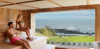 New Alpine-style spa is the coast's new hot spot