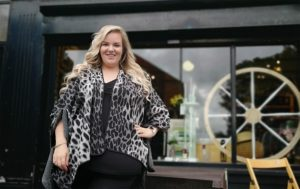 Laura Ferry at Emmaus North East's shop in Low Fell